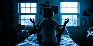 Woman Meditating Bed Sitting Sleep Mindful Seat Position Market Companies LIst Overview Top List 40 Organizations MedTech Sleeping