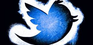 Twitter Stencil Spray Paint Logo Bird Tweet Fake News Actions Function Flagging Report