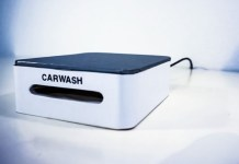 Carwash Smartphone Screen Cleaning Device Desk Size Kickstarter