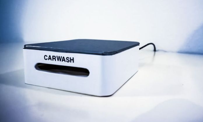 Carwash Smartphone Screen Cleaning Device Desk Size Kickstarter