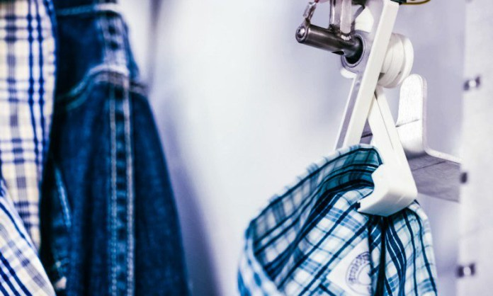 ThreadRobe Automated Wardrobe Clothes Fashion App Robot Holding Folding Buttler Robot