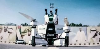 Dubai Police Hoverbike Russian Scorpion-3 News Video Demo