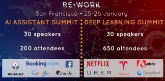 Re-Work San Francisco January 2018 AI Assistant Summit Deep Learning Event Conference Rework