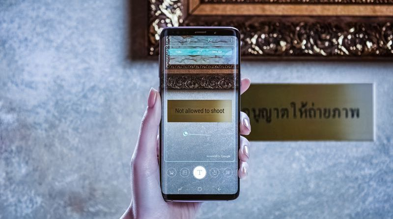Samsung Galaxy S9 Plus Camera MWC 2018 Bixby Ai Assistant Smart Home Live Translation Thai English Real Time Museum