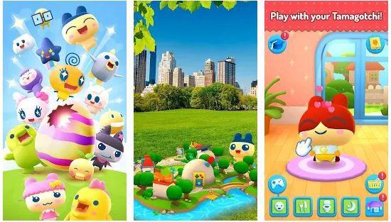 My Tamagotchi Forever Game App Screenshot 1