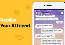 Replika AI Chatbot Messenger Friend Free App Review Cover Shot Crop