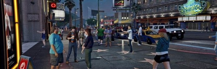 GTA 5 Screenshot Avenue Of The Stars Vinewood Pseudo Hollywood Game