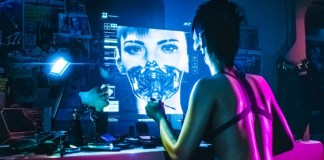 Cyberpunk 2077 Trailer Woman Cyborg Human Future Game CD Projekt Red Witcher Female Character Pretty And Deadly Video E3