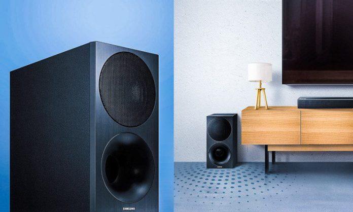Samsung Soundbar HW-M450 Unboxing SWA-8500SEN Wireless Rear Lautsprecher Kit Crop Review Article Opinion Expert Influencer Home Audio Consumer Products Comparison Specs Price