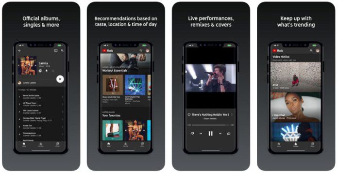 iOS App Screenshots Google YouTube Music Plans Review Article Worth It Bands Artists Videos