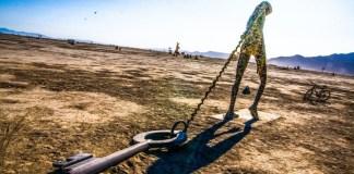 Key Note Sculpture Desert Burning Man Art Made Of Keys And Locks Password Manager Article Encryption