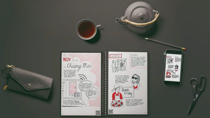 Rocketbook Everlast Notebook Erasable Reusable Product Review At Home Desk Teapot