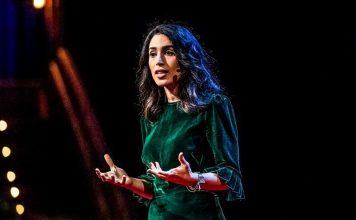 Yasmin Greendirector of research and development at Jigsaw Alphabet extremism online harrasment social media bad actors ai technology video ted talks speech
