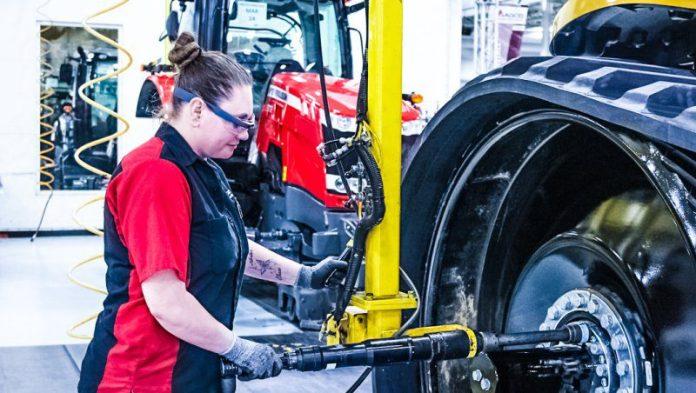 Google Glass Enterprise X Company Alphabet New Release Version 2 Woman Working in Garage Engineer Shop