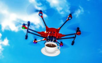 IBM Coffee Drones
