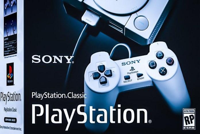 Sony PlayStation Classic Box Design