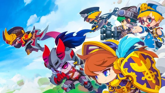 Maplestory 2 Maple Story JRPG ARPG MMO Game Cute Characters