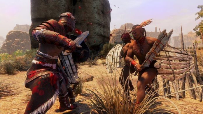 Conan Exiles Fantasy Survival Game Review Funcom Article Outside Graphics Battle Combat