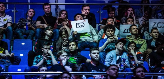 Esports Audience Crowd Community Spectators LGD Fans Gaming Sports Games