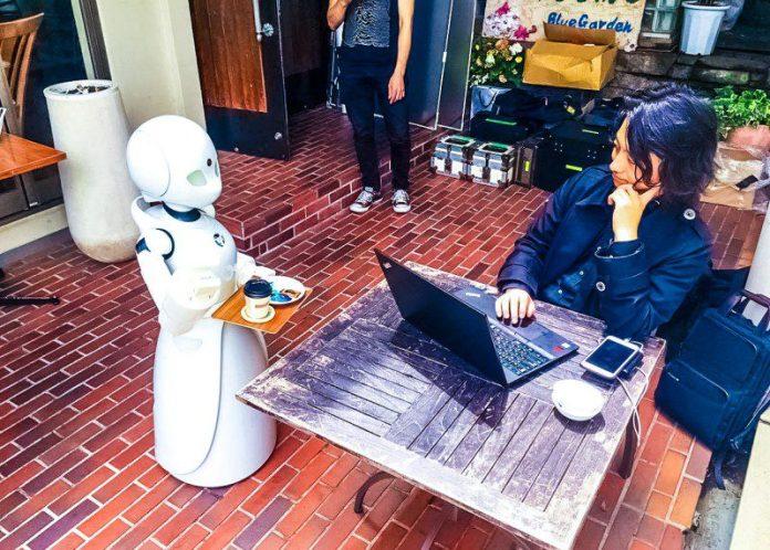 OriHime Ory Labs ASL Robots Serving Restaurant Cafe Japan Tokyo