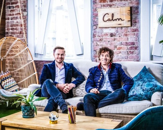 Alex Tew & Michael Acton Smith - Calm 1 Samsung News