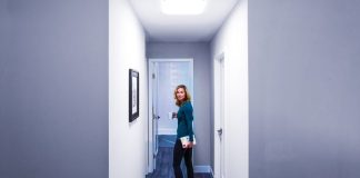 Hallway After_Woman_Solatube