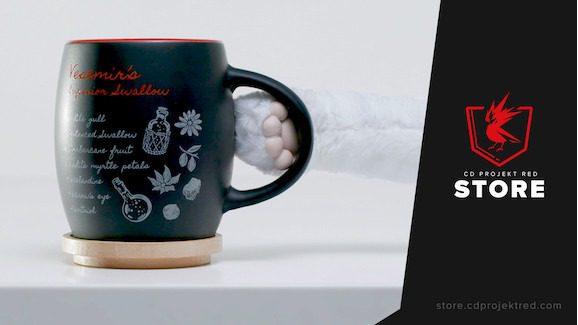 CD Projekt Red Store Buying Cyberpunk 2077 Witcher Gwent Gaming Gear Geralt Mug