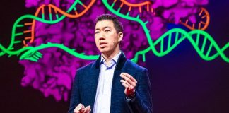 David R Liu speaks at TED2019 Bigger Than Us April 15 19 2019 Vancouver BC Canada Photo Bret Hartman TED Crop