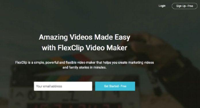 FlexClip Free Video Maker Screenshot 1