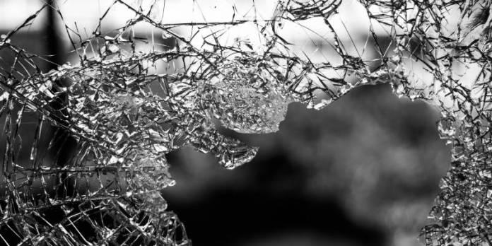 Broken Glas