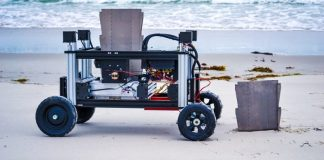 Romu Environment Protecting Robot Wyss Institute Harvard University Research Robotics Video Beach In Action