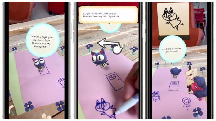 TokoToko AR Game Creativity Screenshot Gameplay iPhone