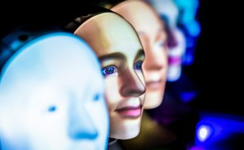 Many faces Furhat Robotics