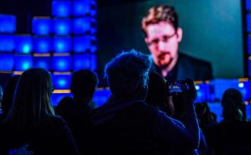 Edward Snowden Interview Talk Web Summit Tech Conference