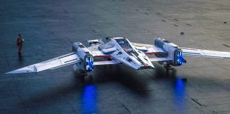 Tri-Wing S-91x Pegasus Starfighter Porsche Star Wars Designer Alliance Wired Brand Labs Video