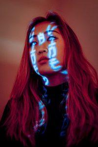 Password-Managers-Overview-Woman-Password-Light-Face-Portrait