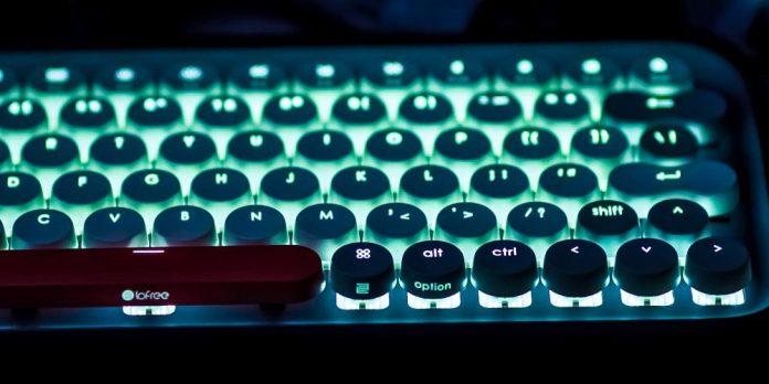 Lofree Four Seasons Mechanical Keyboard Retro Design