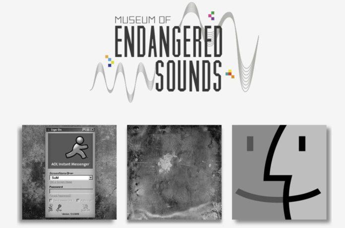 Museum of endangered sounds website