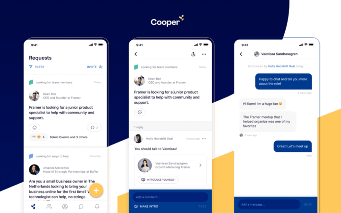 Cooper Private Professional Networking App How To Use Helpful guide