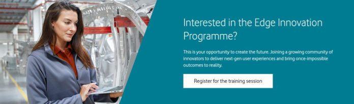Vodafone Business and AWS Edge Innovation Programme Dev Training Session Registration