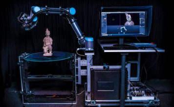 CultArm3D - Fraunhofer IGD develops automated robotic arm to scan cultural objects in 3D now cooperating with Phase One