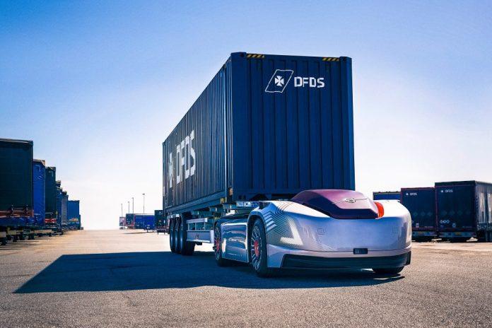Volvo Vera Autonomous Truck Cargo Loader