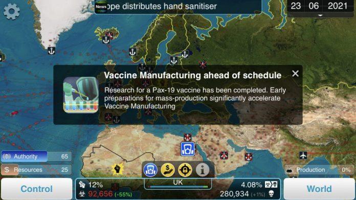 Plague Inc The Cure DLC