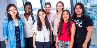 Girls Who Code (GWC) Group Shot Campus Zynga News International Womens Day