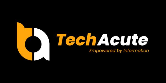 TechAcute Unveils New Logo 2021 Press Release