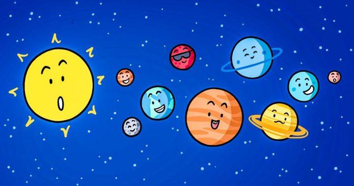 solar system graphics