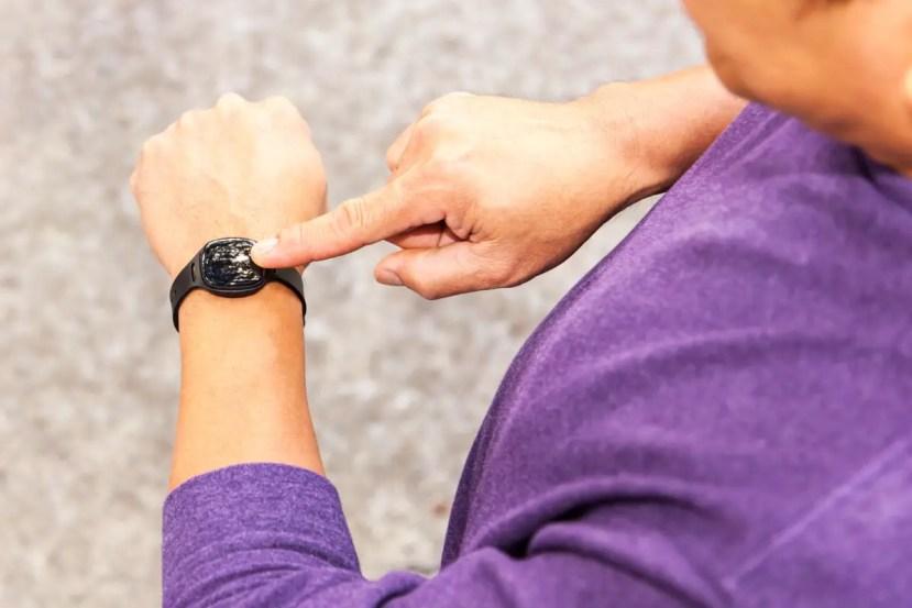 Health o meter nuyu activity monitor band