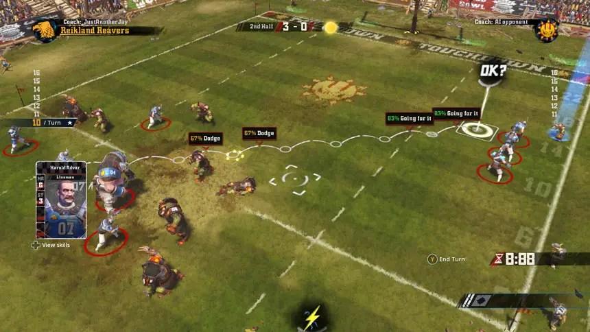 Blood-Bowl-2-Gameplay