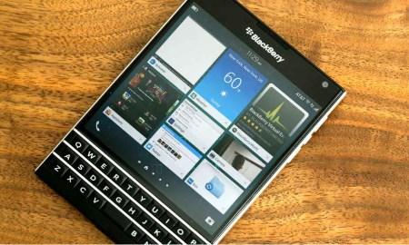Blackberry Passport with BB10