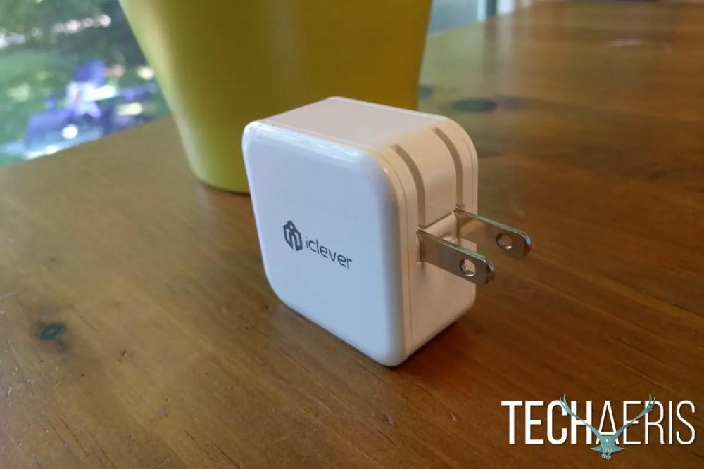 iClever BoostCube USB-C Wall Charger Foldable Plug